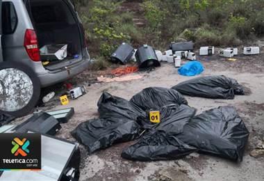 OIJ investiga si decomiso de marihuana en Liberia tiene relación con homicidio en esa zona