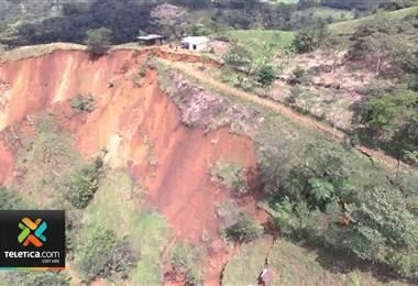 CNE inspeccionó los más de 70 deslizamientos activos en 23 cantones del país