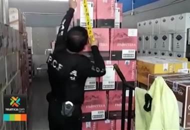 Autoridades ticas y panameñas buscan poner freno al contrabando de licores y cigarrillos