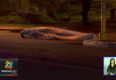 Hombre fue asesinado de una puñalada la madrugada de este viernes en Montes de Oca