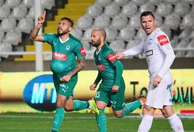David Ramírez cerró con gol la temporada en Chipre