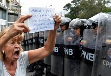 Manifestaciones este sábado en Caracas