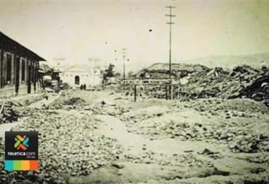 Hace 109 años ocurrió el terremoto de Cartago