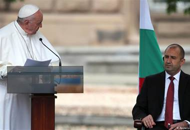 Papa Francisco en Bulgaria