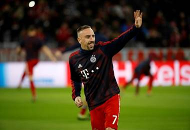 Bayern Munich hace oficial la marcha de Ribéry a final de temporada