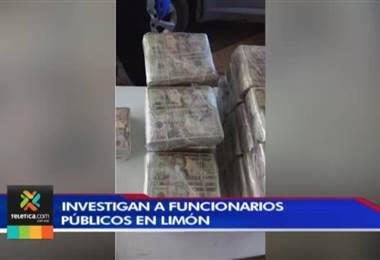 OIJ investiga a funcionarios públicos de Limón que estarían vinculados en lavado de dinero