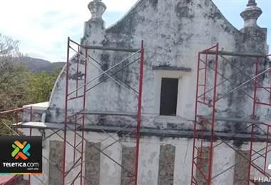 Obras de restauración del templo de San Blas de Nicoya alcanzaron ya el 50%