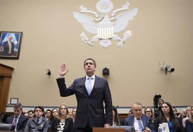 Michael Cohen, exabogado de Donald Trump. Foto AFP