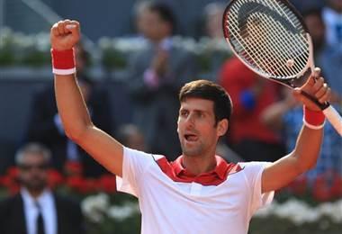 Tenista serbio Novak Djokovic.