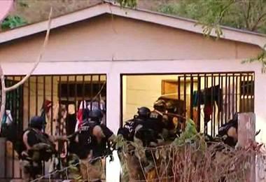 OIJ y Fiscalía realizan allanamientos para detener grupo dedicado al narcotráfico y sicariato