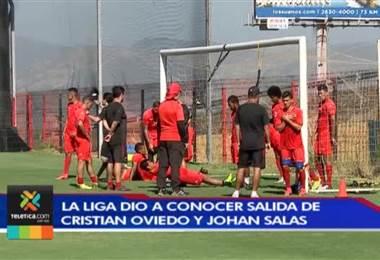 Alajuelense va confirmando poco a poco salidas de jugadores
