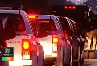 OIJ capturó varios miembros de una narco familia en allanamientos realizados esta mañana en Guápiles