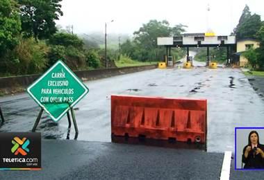 Ruta 32 se mantiene cerrada desde este martes