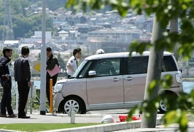 Vehículo atropelló a niños en Japón. Foto AFP