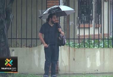 Más lluvias llegarán al Valle Central a partir de este miércoles
