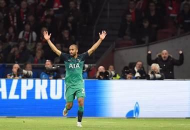 Lucas Moura delantero del Tottenham | AFP