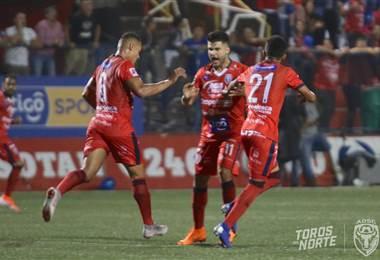San Carlos enfrentó a Herediano en el Carlos Ugalde | cortesía prensa san carlos