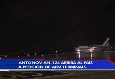 Esta noche llegó al país uno de los aviones más grandes del mundo