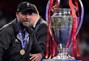 Jurgüen Klopp, técnico del Liverpool ganador de la Champions League 2019 | AFP