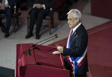 Sebastián Piñera, Presidente de Chile. Foto AFP