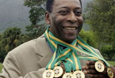Pelé. AFP