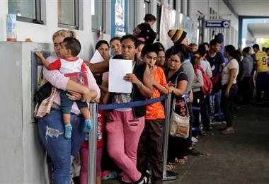 Visa solicitada en Perú