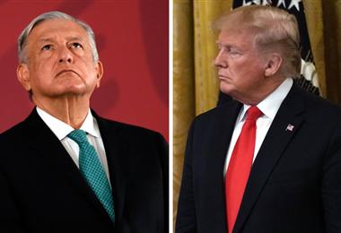 Trump AMLO. BBC