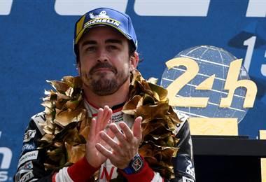 Fernando Alonso deja el Mundial de Resistencia con un doble éxito