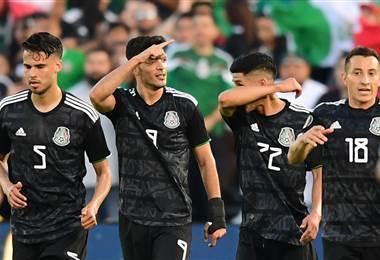 Selección de México goleó a Cuba en la Copa Oro - AFP