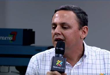 Fernando Ocampo, presidente de Alajuelense.