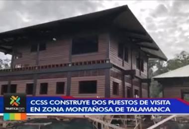 1600 indígenas de Talamanca se beneficiarán con dos puestos de visita que está construyendo la Caja