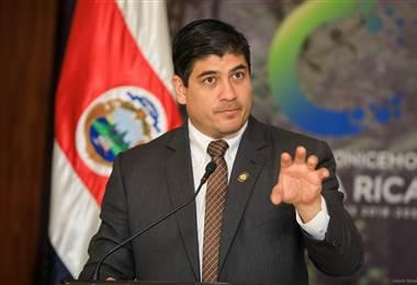 Carlos Alvarado, Presidente de Costa Rica. Foto prensa Casa Presidencial
