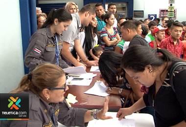 Migración ha recibido este año 12.500 solicitudes de nicaragüenses que piden refugio
