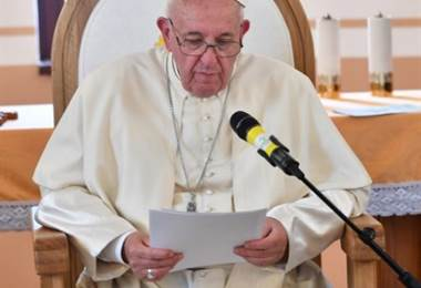 Papa Francisco. Foto AFP.