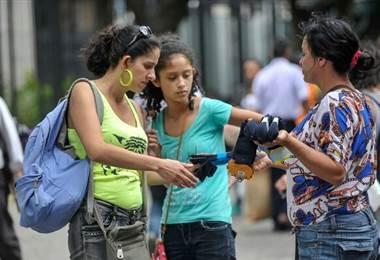 Trabajos informales en Costa Rica.