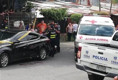 Hombre fue herido de bala este sábado en Cinco Esquinas de Tibás