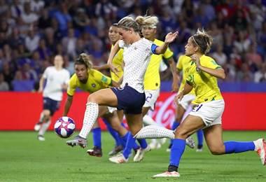 Francia derrotó a Brasil en el Mundial Femenino | AFP