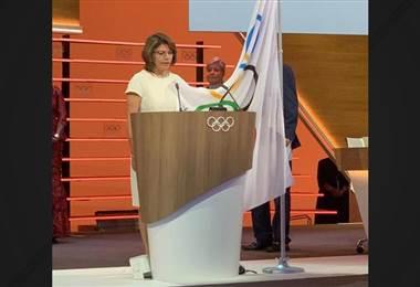 Laura Chinchilla es nombrada oficialmente miembro del COI