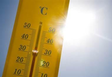 Altas temperaturas. Foto AFP