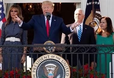 Donald Trump, Presidente de Estados Unidos. Foto AFP