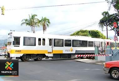 Cruces del tren entre Heredia y Alajuela tendrán agujas