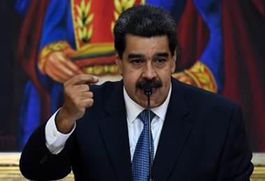 Nicolás Maduro, Presidente de Venezuela. Foto AFP