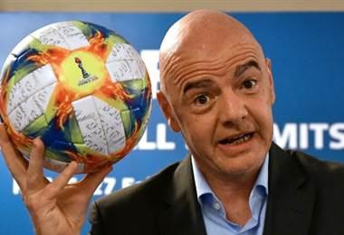 Gianni Infantino, presidente de la FIFA | AFP