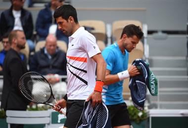 Dominic Thiem derrotó a Novak Djokovic en Roland Garros | Rolnad Garros