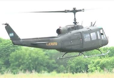Helicópteros donados por Estados Unidos ya están operables tras varios meses de haber llegado