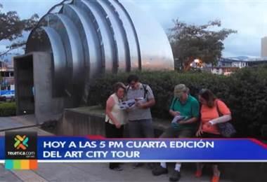 Este miércoles a partir de las 5 p.m. puede disfrutar de la edición 58 del Art City Tour