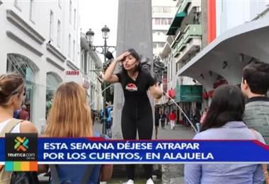 Vecinos de Alajuela podrán disfrutar de la fiesta de los cuentos en el teatro municipal de la ciudad