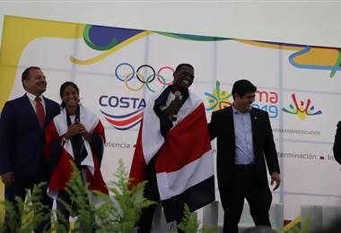 Shirley Cruz y Sherman Güity serán los abanderados de Costa Rica en Lima - CORTESÍA PRENSA CON