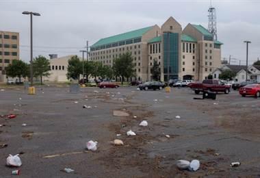 Huracán en Nueva Orleans