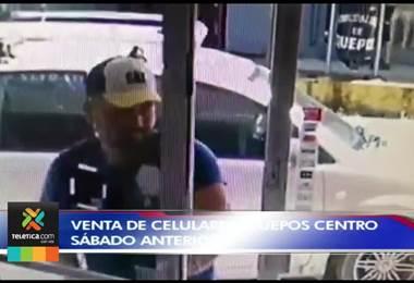Delincuentes asaltaron venta de celulares en Quepos y uno de ellos hasta se vistió de empleado